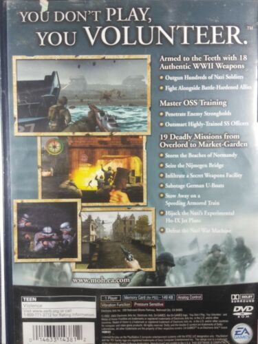 Medal Of Honor Frontline PlayStation 2 PS2 - $5.47