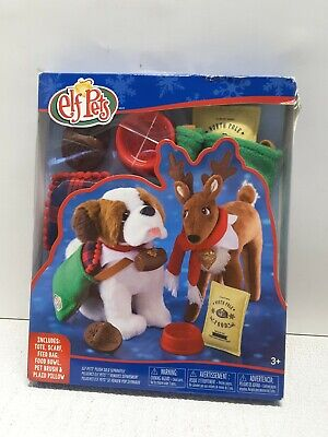 New The Elf on the Shelf Elf Pets Good Tidings Toy Tote and Scarf