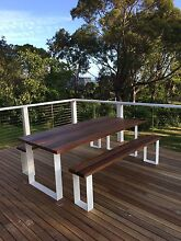 OUTDOOR SETTING - TABLE WITH MATCHING BENCH SEATS FROM $3,980 Brighton Bayside Area Preview