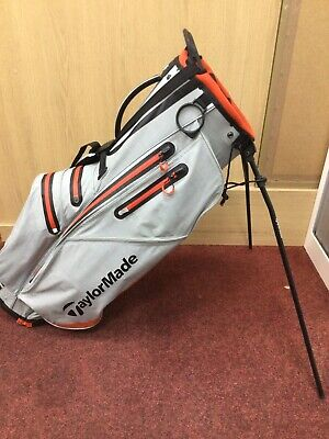 TAYLORMADE FLEX TECH WATERPROOF CARRY / STAND BAG DOUBLE STRAP