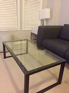 Crate and Barrel coffee table for sale