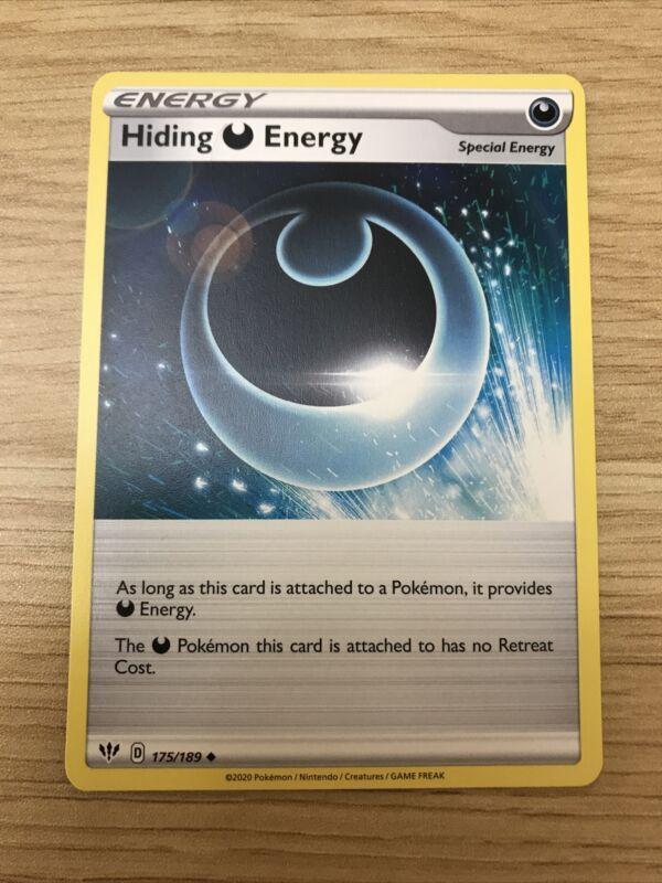Pokemon Special Energy Card Set Darkness Ablaze x4 Lot Hiding Energy 175//189