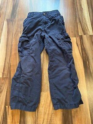Youth Boys Quicksilver Blue Pants Size L/7 Cargo Quicksilver Boys Pants