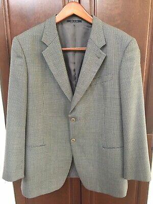 Armani Collezioni Blazer Sports Coat Jacket Gray Sz: 46R