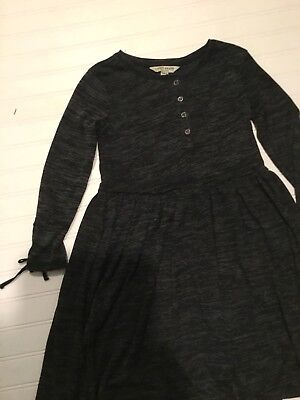 "Girls Dress Sale (Girls Dress Black/Gray ""Lucky Brand"" Size Large  NWT)"