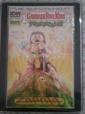 Pail Covers - ORIGINAL IDW JEFF ZAPATA GARBAGE PAIL KIDS comic cover ART Mad Mike Conan GPK