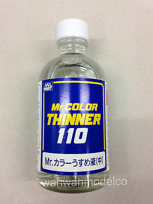 Used, MR HOBBY Gunze T102 Lacquer Thinner MODEL PAINT 110ML KIT TOOL SUPPLY for sale  Shipping to Canada