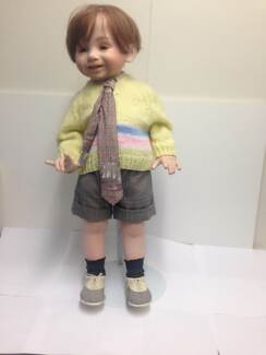 Collectable Doll - Boy on a Stand
