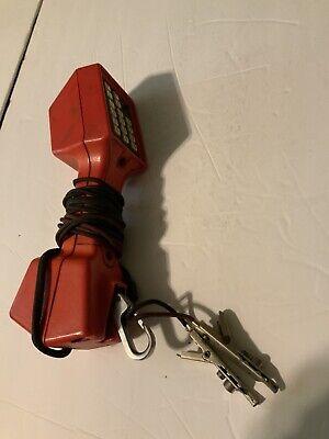 Vintage Harris Ts22 Linesman Butt Set Phone Line Tester Telephone W Speaker