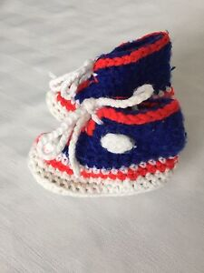 Children's Hand Knitted Slippers- Size 6 to 9 Months