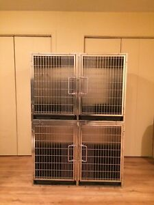 Cages en stainless neuves