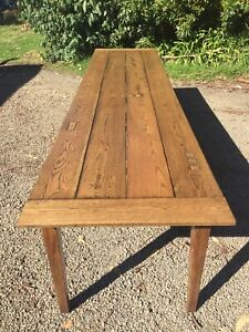 French Farmhouse Tables Yarraville Maribyrnong Area Preview