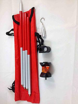 Brand New 360mini Prism W4 Poles For Leica Topconsokkianikon Total Station