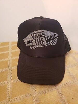 cc153b7f7ee591 Vintage VANS Off the Wall Snapback Hat skateboard skateboarding