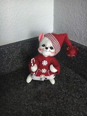 """annalee christmas 6"""" candy cane stripe -"""