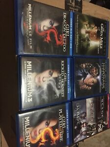 Assorted Blu-Ray Movies $1 each
