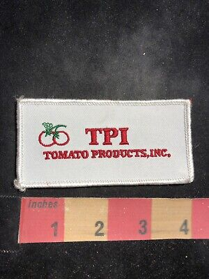 Farm / Agriculture Related TPI TOMATO PRODUCTS INC. Advertising Patch 86N5 5 Piece Tomato