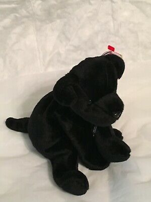 TY Beanie Baby - LUKE the Black Lab Dog - Pristine with Mint Tags - RETIRED, used for sale  Circle Pines