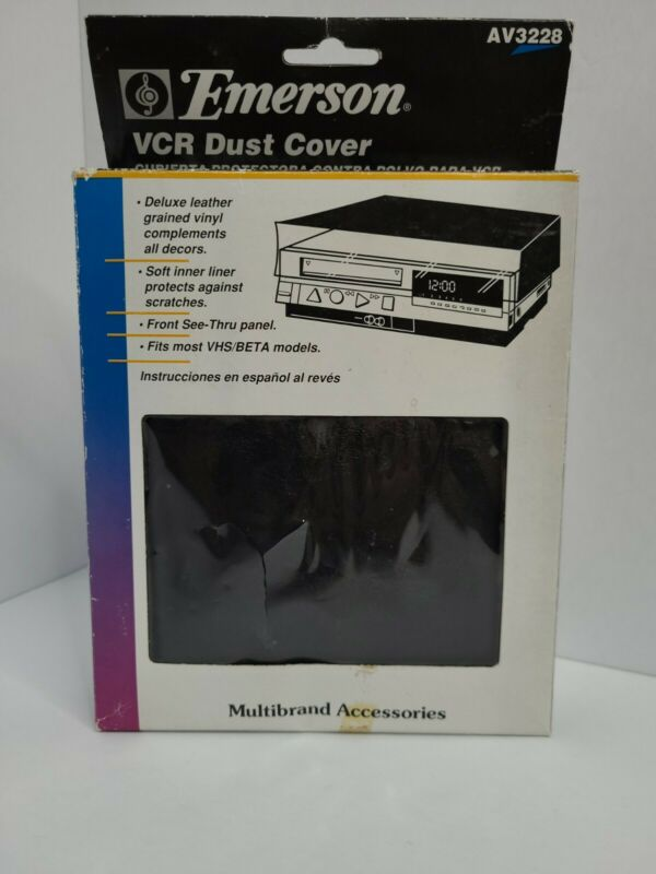 Brand New Emerson Vcr Dustcover AV3228 multiband accessories