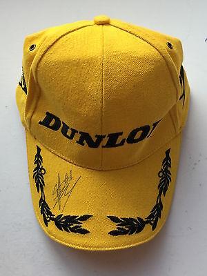 c2276bb5b401d James Toseland Hand Signed Dunlop Podium Cap Superbikes.