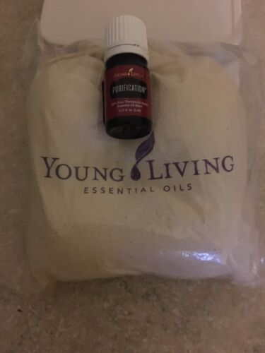 Young Living Wool Dryer Balls With Bag And 5ml Purification