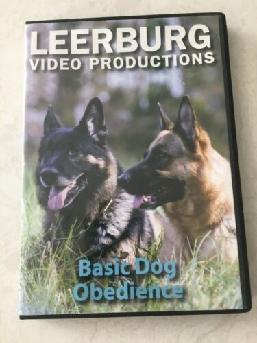 Leerburg Video Productions Basic Dog Obedience Training Schutzhund AKC DVD