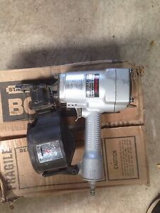 Japanese made heavy duty coil nailer and bostitch nails Margate Kingborough Area Preview