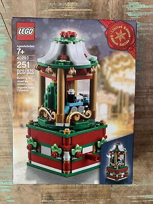 LEGO Christmas Ltd. Edition Carousel Train & Christmas Tree 251 Pcs 2018 EUC