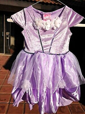 Purple Rapunzel Dress (Lilac purple Sophia or Rapunzel PRINCESS Dress sz 4-6X play costume Soft silky)