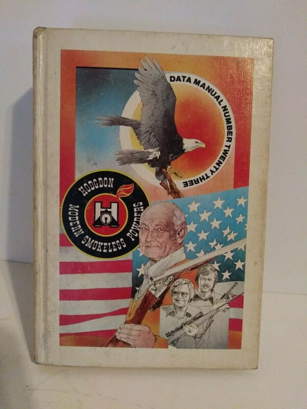 Hodgdon Modern Smokeless Powders Data Manual #23 1977 First Printing