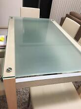 6 seater Glass top Dining Table $150 Redcliffe Redcliffe Area Preview