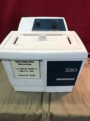 3210 Branson Heated Ultrasonic Cleaner