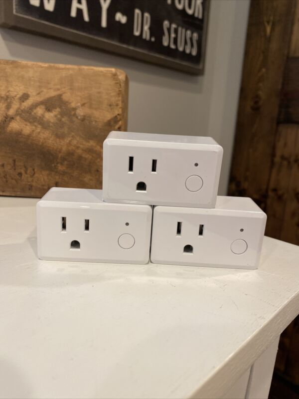 Feit Electric Wifi Smart Plug 3 Pack Works With Alexa, Siri & Google Home