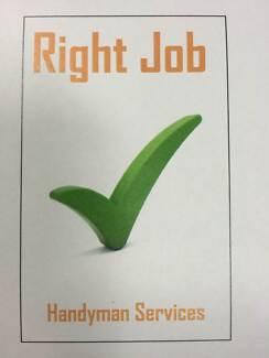 Right Job Handyman Service Port Kennedy Rockingham Area Preview