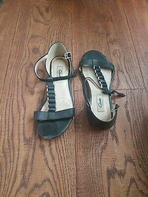 Damen Sandalen Schwarz Größe 37 Von Clarks