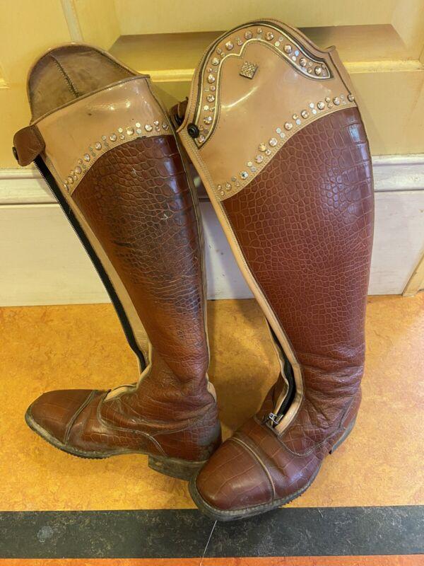 DeNiro Custom Riding Boots 37 MC L