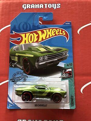 69 Chevelle #15 Green 2020 Hot Wheels Case A