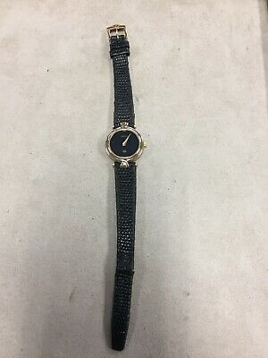 Vintage GUCCI 4500L Two Tone Stainless Gold Plated Ladies Watch *NEEDS NEW BATT*