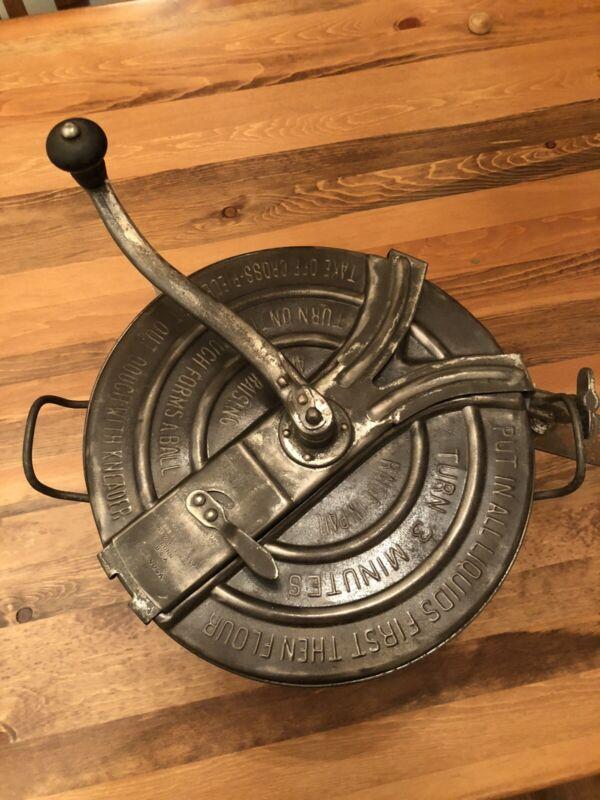 Antique No. 4 Bread Maker Mixer Landers Frary Clark 1904 With Original Clamp