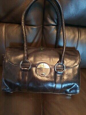 Jasper Conran Handbag Leather Black