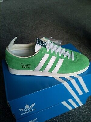 Adidas Gazelle Vintage uk9 Green suede