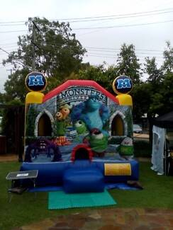 JUMPING CASTLE HIRE MONSTERS INC Mermaid Beach Gold Coast City Preview