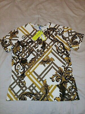 Versace Jeans Baroque T shirt size L,authentic
