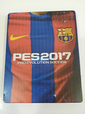 Pes 2017 pro Evolution Soccer PS4 PLAYSTATION 4 Edition Steelbook - Solo Box