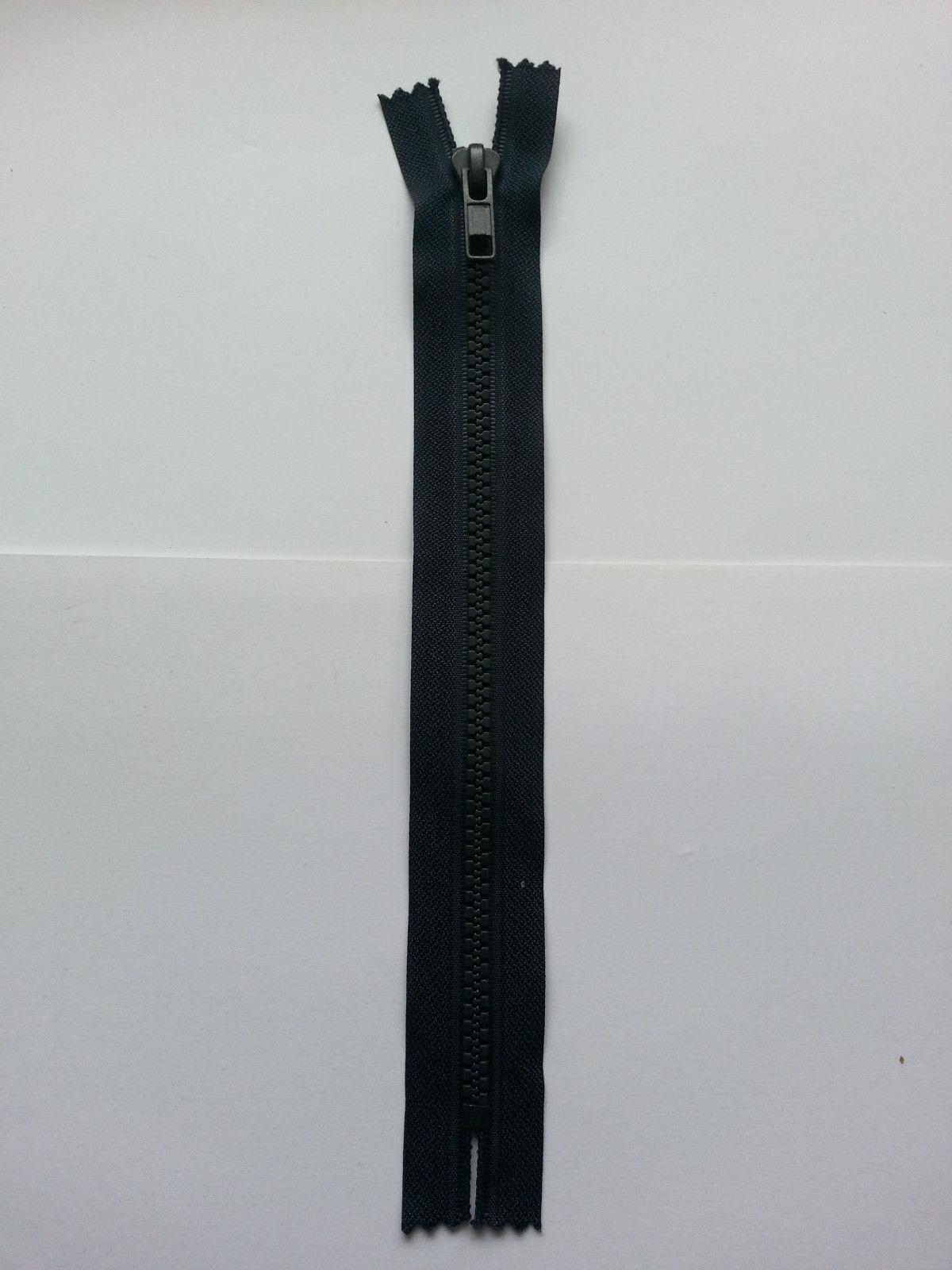 Reißverschluss Kunststoff Grob 8mm 60cm lang Teilbar 5,06 EUR//Stück