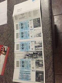 ACDC concert tickets x4 Banksia Beach Caboolture Area Preview