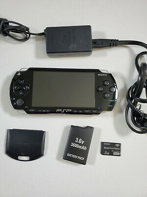 SONY PSP 1000 1001 Playstation Portable TESTED; NEW BATTERY;