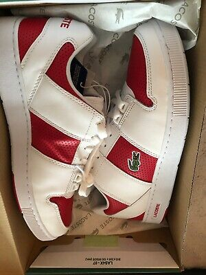 Lacoste Thrill 319 Casual Shoes Red/white Size 8 Brand New, Never Worn