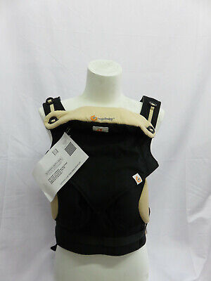Ergo Baby Carrier - 360 Black and Camel