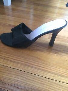 """3 """" heel black"""
